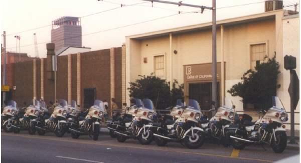 Police Bikes...