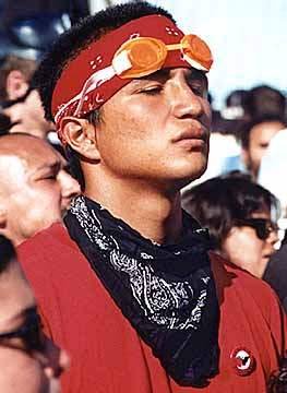 CHICANO PROTESTOR...