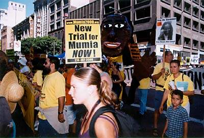 Marching for Mumia...
