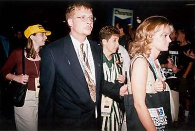 Nervous Delegates...