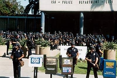 Police at Parker Cen...