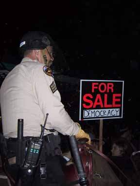 DEMOCRACY FOR SALE...