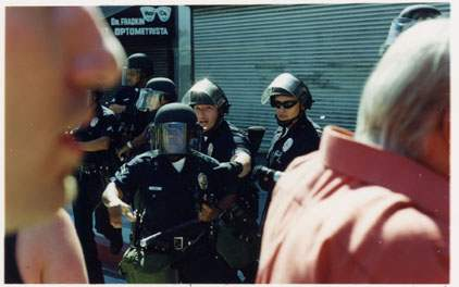 Police Violence Mars...