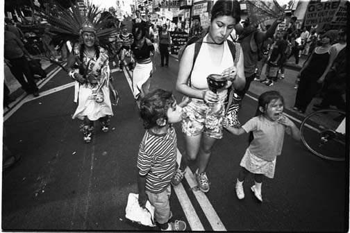 Children with Aztec ...