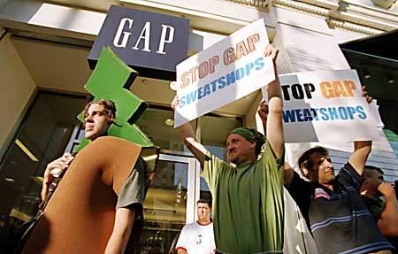 Demo at the Gap...