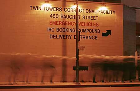 Cops at Twin Towers ...