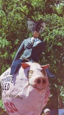 Candidates Ride Pigg...