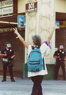 Peace vs. Police...