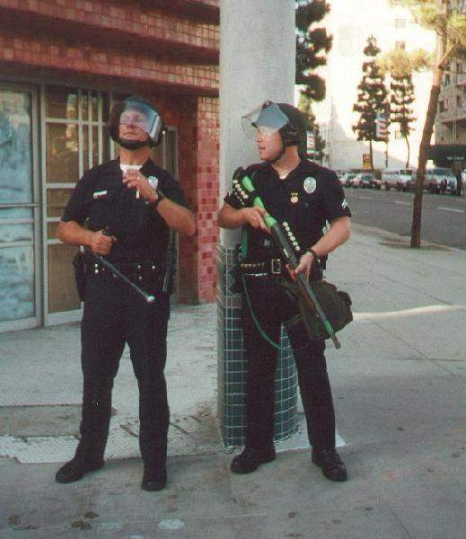 Two cops...