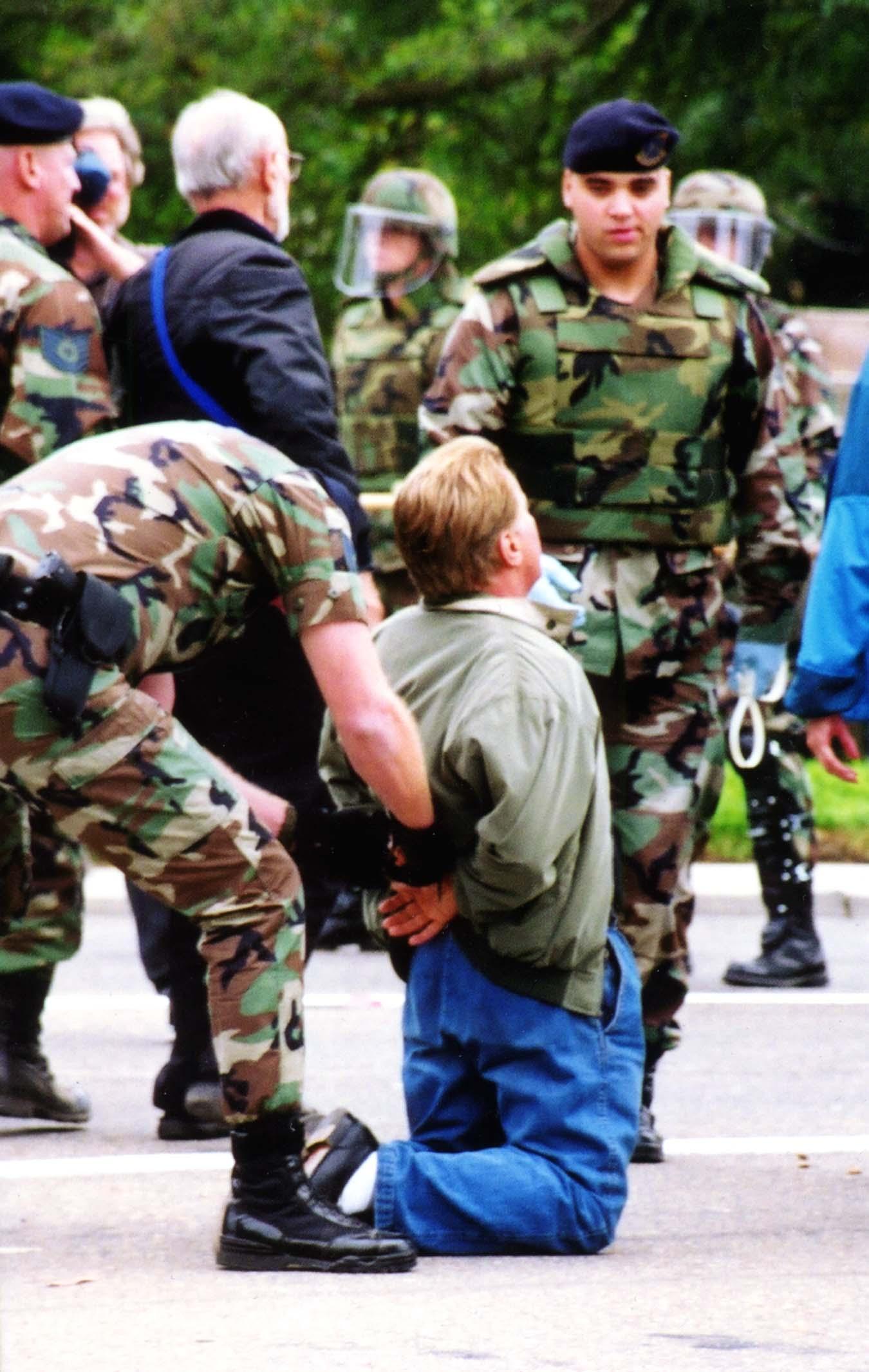 Martin Sheen Arrested Vandenberg Air Force Base La Imc