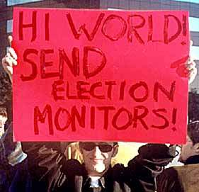 FREE ELECTIONS?...