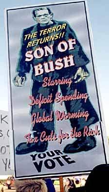 SON OF BUSH FRANKENS...