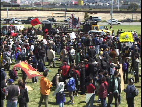 Demonstration at Lar...