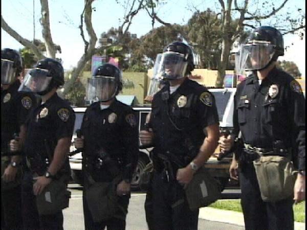 Police Presence at S...