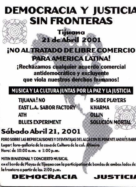 ALTO al ALCA! Flyer...