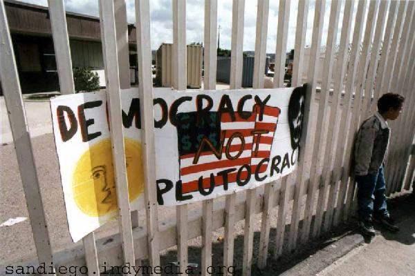 Democracy Not Plutoc...
