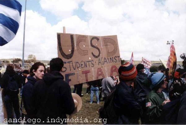 UCSD students at FTA...