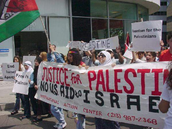 Palestinian March...