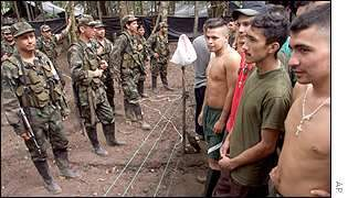 Colombia rebels free...