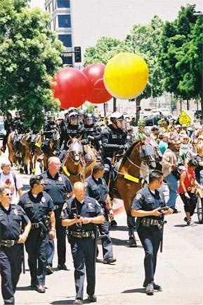 Cops & Balloons...