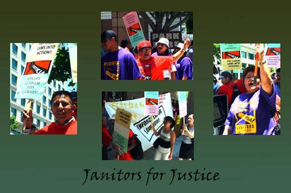 Justice for Janitors...