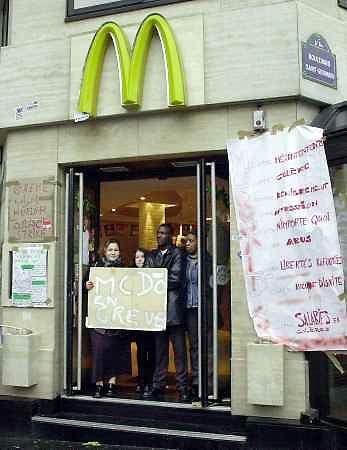McDonalds Protest...