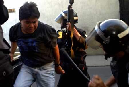 Guatemalans Hold Vio...