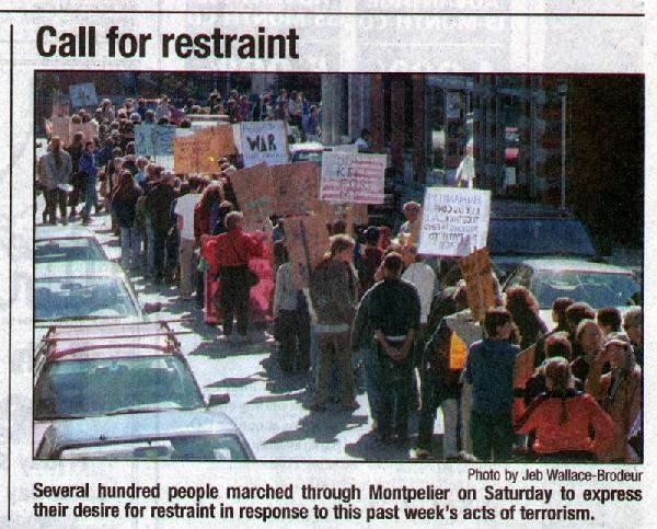 Anti-War March in Mo...