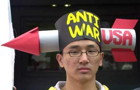 Anti-War Protest in ...