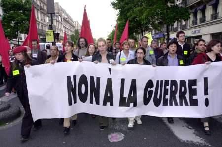 Paris anti-War Prote...