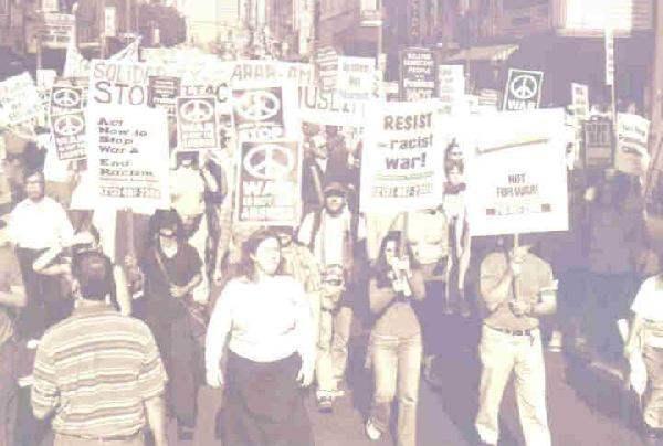 Peace Demonstration ...