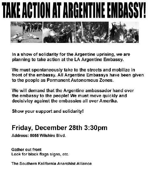 Sieze The Argentine ...