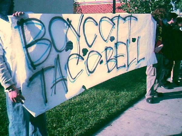'boycott tacobell' b...