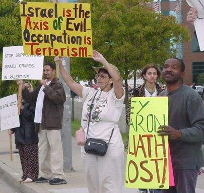 LA Palestine Demonst...