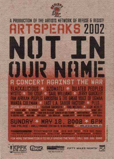 Art Speaks! 2002 - N...