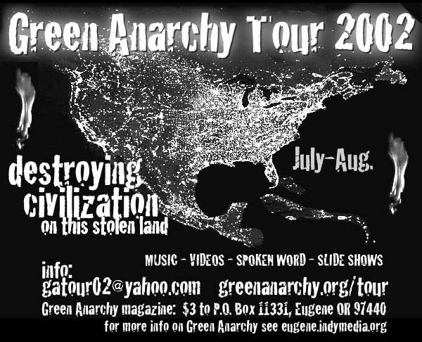 GREENANARCHY TOUR 20...