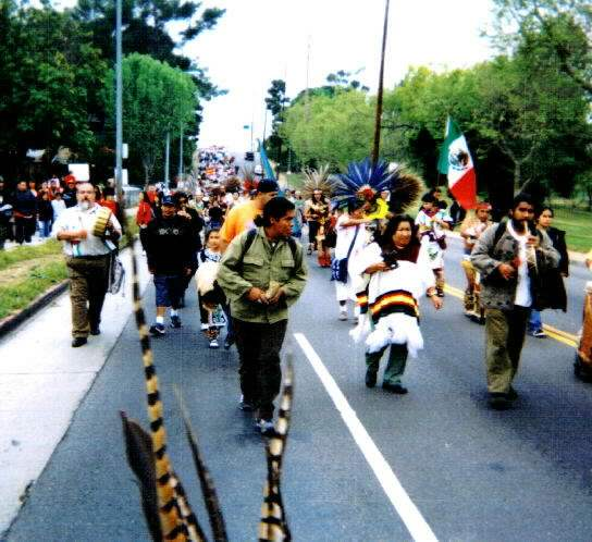Zapatista March...
