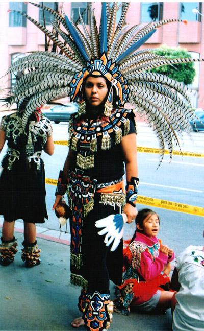 Aztec Dancer...