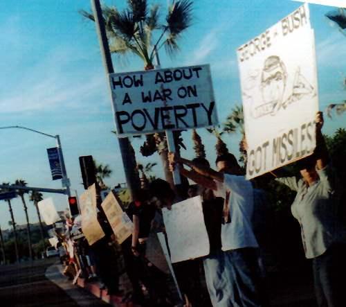 OC Demo Against Bush...