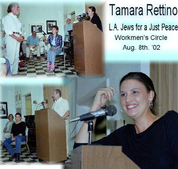 Tamara Rettino at Wo...