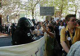 Violent repression o...