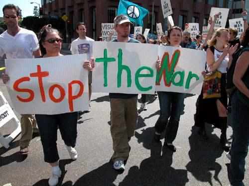Anti-War Protest @ W...