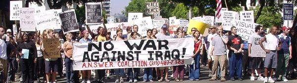 No New War Against I...