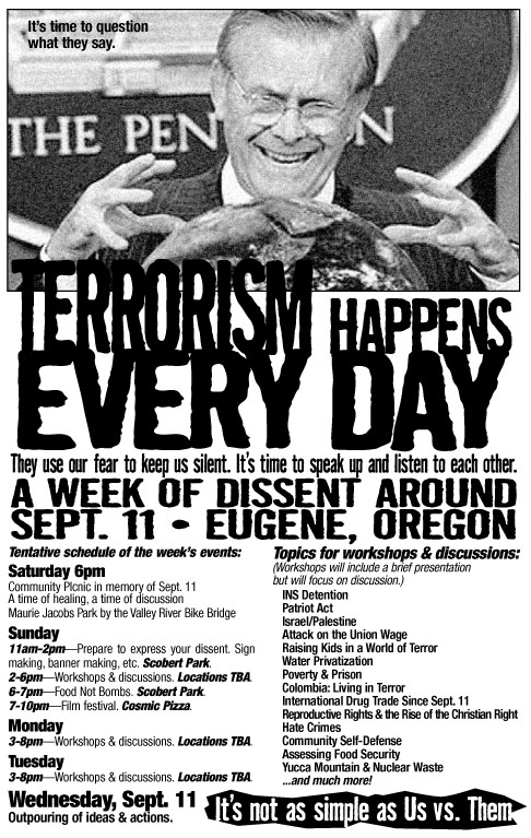 A Week of Dissent Ar...