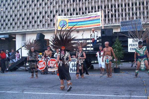 More Aztec Dancers...