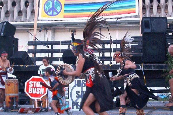 Aztec Dancers...