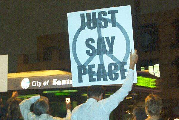 Just Say Peace...