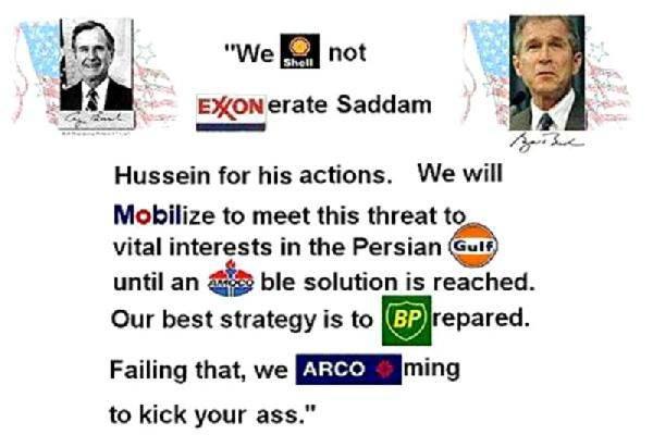 Bush's Oil / War Gra...