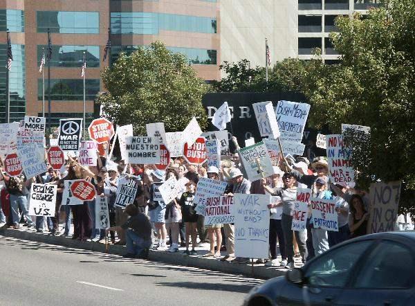 Anti-War Protestors ...