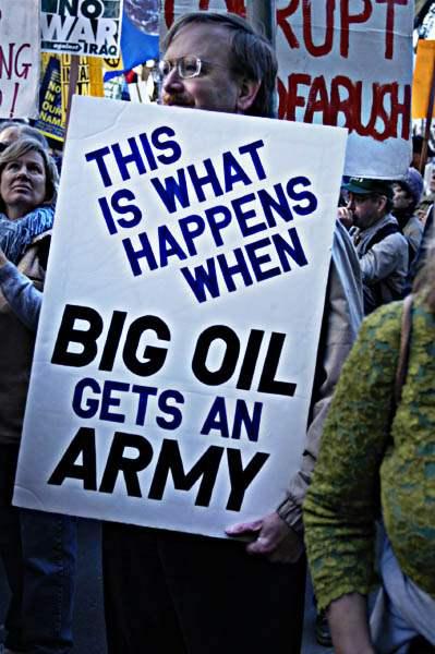 Big Oil Army...